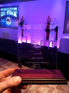 Ayd Instone PSA award