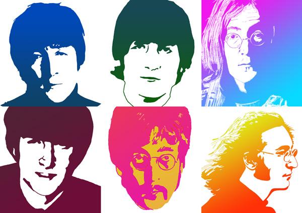 John Lennon Beatles Drawings