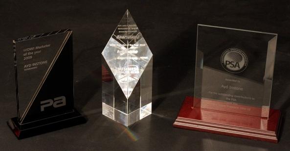 Ayd Instone Sunmakers Awards Business Wealth Club PSA creative marketing