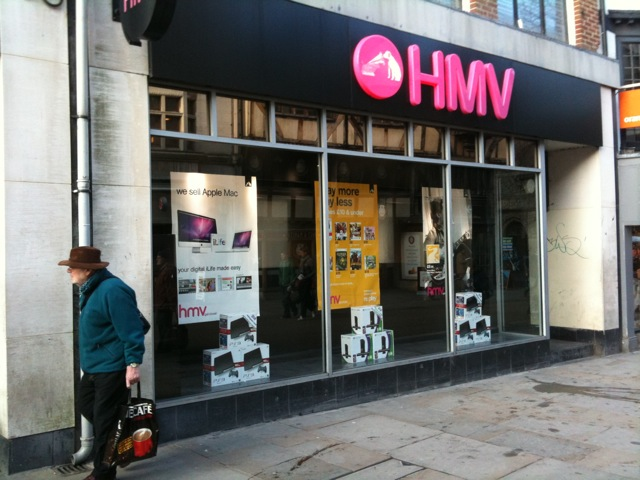 4e26ace2f6 Why HMV will die and how they could have survived