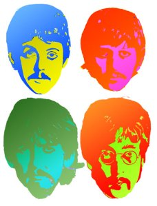 Beatles illustration 1967 by Ayd Instone