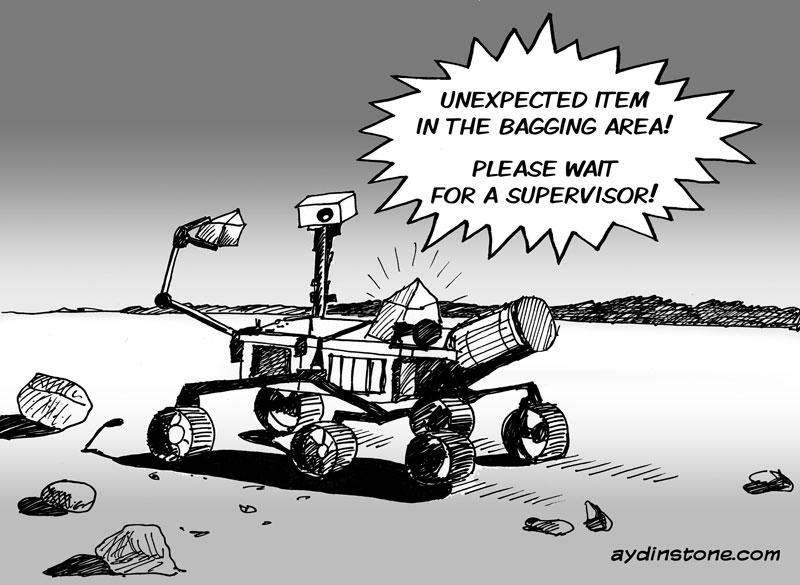 mars rover cartoon - photo #31