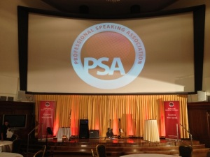 PSA NSA Professional Speaking Association convention stage