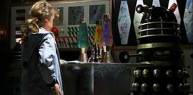 Doctor Who and the Daleks lava lamp mathmos