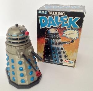 Palitoy Talking Dalek and box