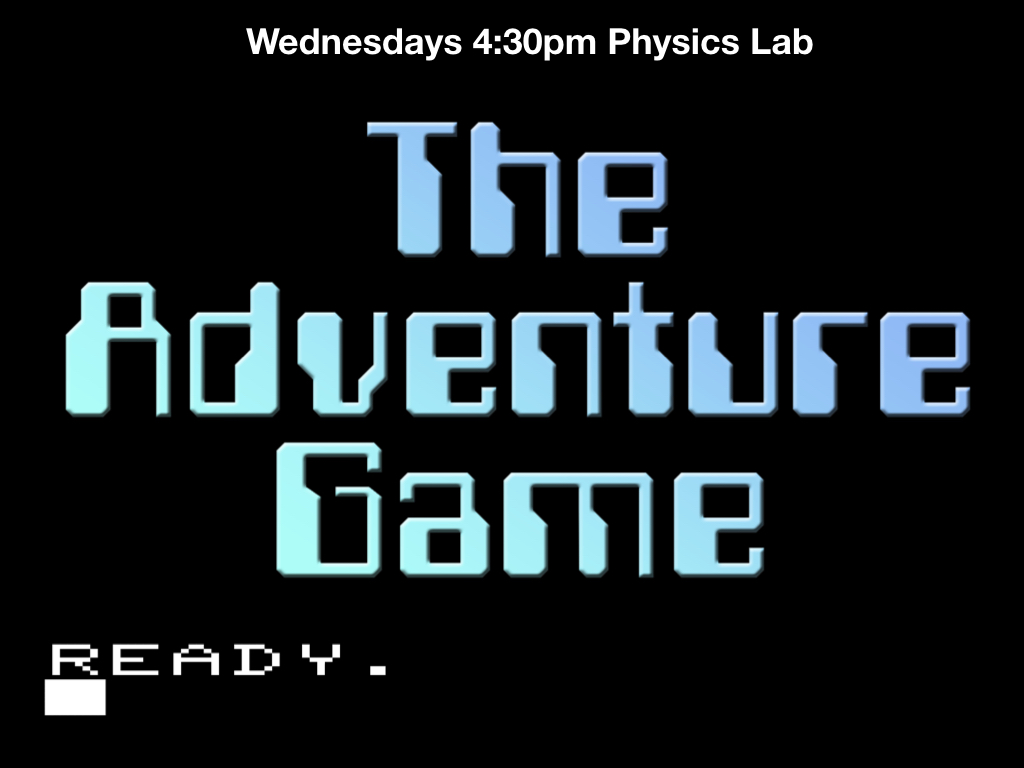 adventure game logo