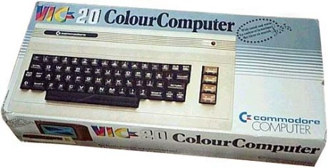commodore VIC20 box